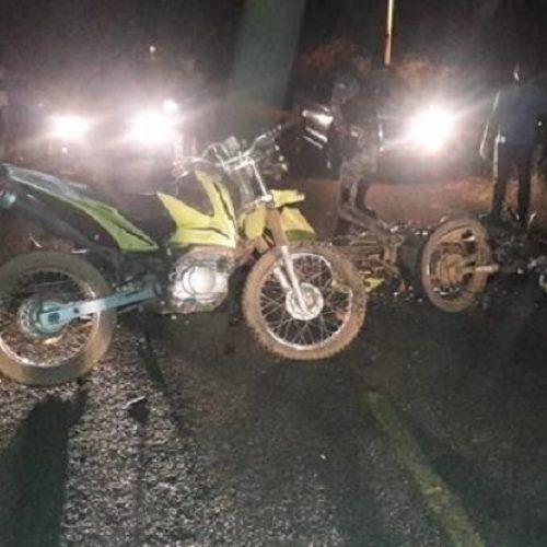 Colisão entre motos deixa duas pessoas mortas e dois feridos PI-469