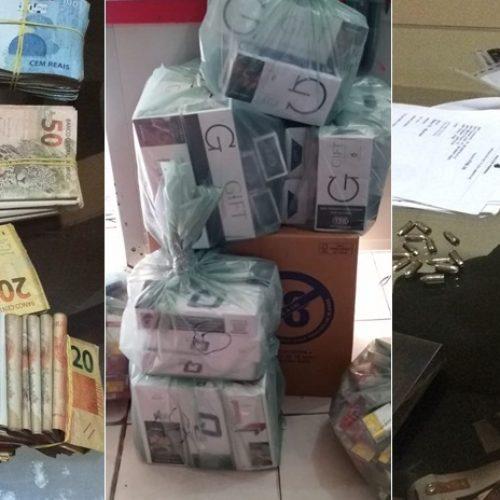 """""""Ladrão que rouba ladrão"""": presos pela PF-PI sofreram roubo de R$ 360 mil"""