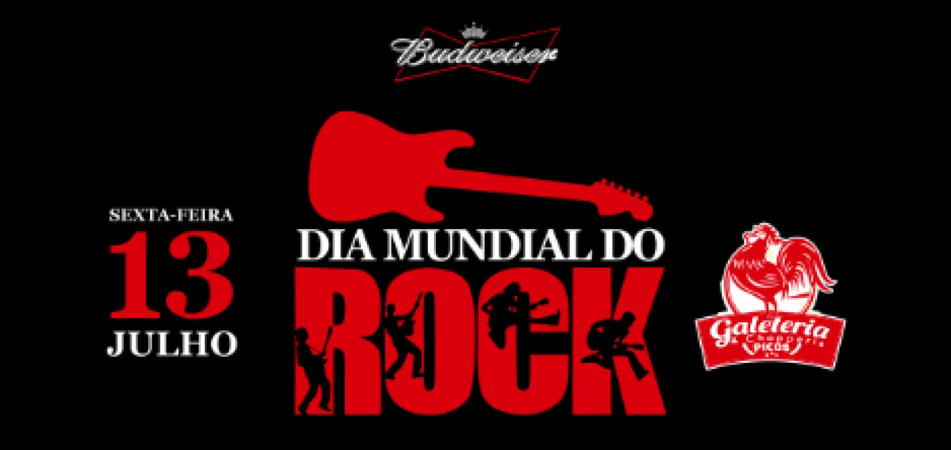 Dia Mundial do Rock será comemorado na sexta-feira (13) em Picos
