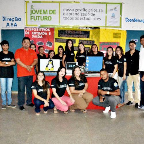ALEGRETE   Curso técnico em informática do Pronatec realiza projeto Integrador Vivenciando Saberes