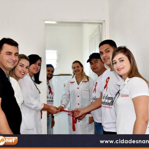 Prefeitura de Francisco Macedo inaugura 1ª Sala de Testagem e Aconselhamento do Vale do Guaribas