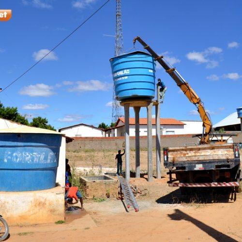 Prefeito de Jaicós acompanha obras na zona rural; 'Estamos estruturando as comunidades', disse