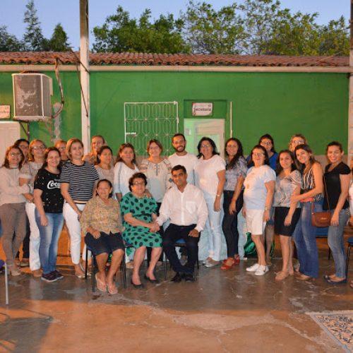 FRONTEIRAS | Escola Nossa Senhora de Fátima recebe visita de fundadora