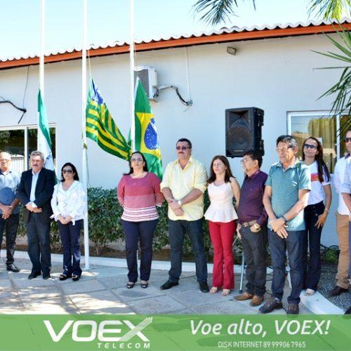 SIMÕES 64 ANOS | Fotos das cerimônias de hasteamento das bandeiras e inaugurações