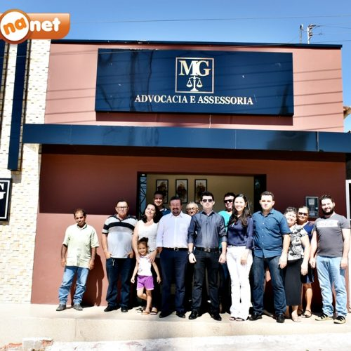 Inaugurado em Francisco Macedo o 1º escritório de Advocacia: 'MG Advocacia e Assessoria'; veja fotos