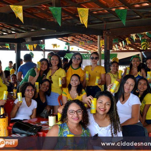 Fotos do jogo Brasil e México no Restaurante Tem Tempero em Jaicós