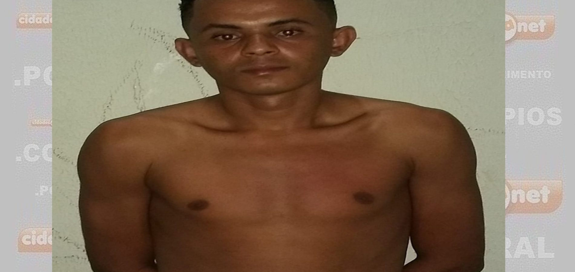 Suspeito de tráfico de drogas é preso na zona rural de Simplício Mendes