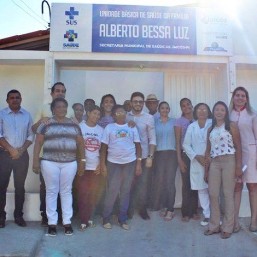 Prefeitura de Jaicós faz reforma e ampliação em nova sede e reinaugura UBS Alberto Bessa Luz
