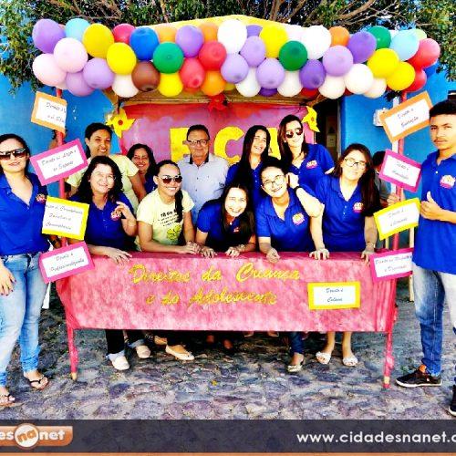Secretaria de assistência social de Francisco Macedo desenvolve ação educativa na feira livre sobre o ECA