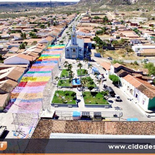 MONSENHOR HIPÓLITO 61 ANOS | Veja imagens aéreas em homenagem ao aniversário do município