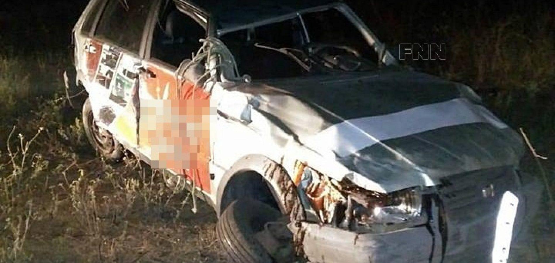 Acidente na BR 407 em Jacobina do Piauí deixa vítima fatal