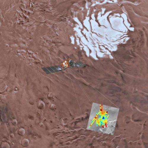 Marte tem lago gigante de água no estado líquido