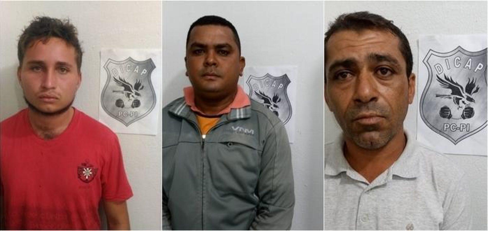 """Três homens são presos durante 2ª fase da """"Operação Glosbe"""""""