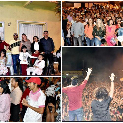 Missa e show com a banda Missionário Shalom reúne multidão de pessoas em Marcolândia; veja fotos