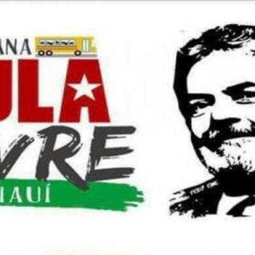 Caravana a favor do Lula irá percorrer mais 13 municípios no Piauí