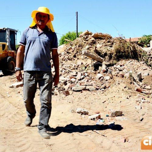 Câmara de Curral Novo do Piauí inicia construção de sede própria; Investimento inicial será de R$ 120 mil