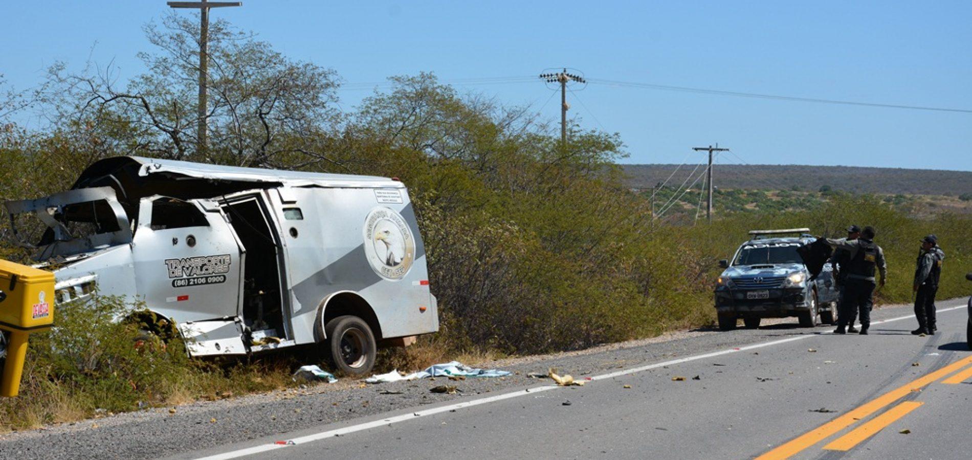 Quatro presos suspeitos de assalto a carro forte na BR 407 em Jaicós são liberados por falta de provas