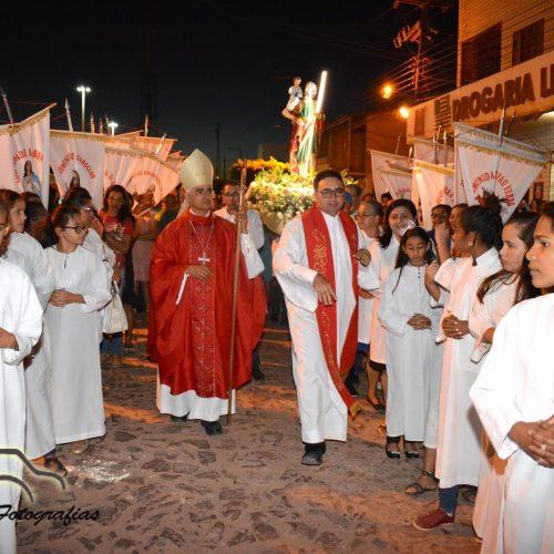 Procissão marca encerramento dos festejos de São Cristóvão padroeiro de Marcolândia