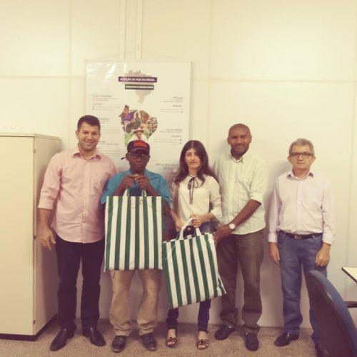 Duas Associações de Jacobina do Piauí são contempladas com kits-feira