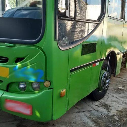 Ônibus escolar é furtado e tem baterias retiradas no Piauí