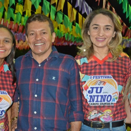 Fotos do 2° dia do I Festival de Quadrilhas de Campo Grande do Piauí