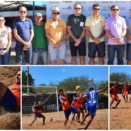 Festival Desportivo de Férias é aberto e movimenta Massapê do Piauí. Veja!
