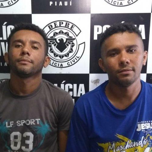 Policiais da Depre prendem irmãos após presenciarem assalto