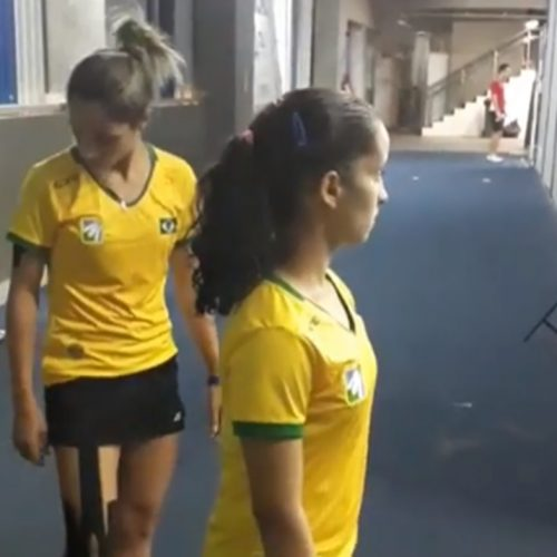 Irmãs colocam Brasil na final do Pan-Americano de badminton