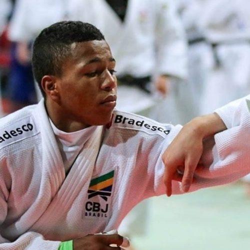 Judoca piauiense conquista medalha de prata em torneio europeu