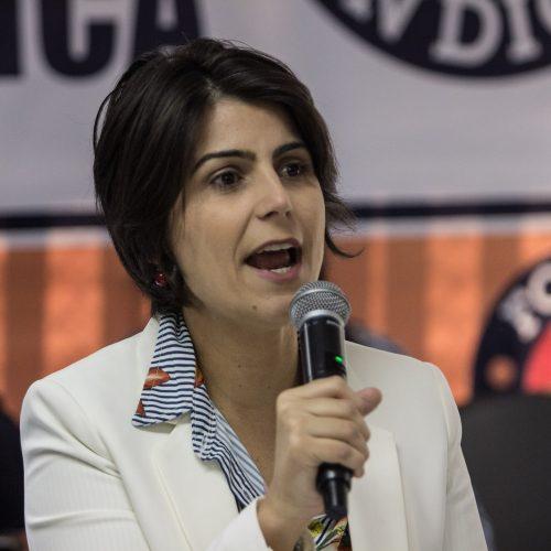 PT quer apoio do PCdoB e sugere vaga de vice a Manuela D'Ávila