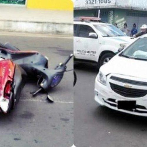 Policial civil fica gravemente ferido em acidente no Piauí