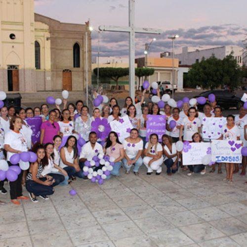 Simões realiza mobilização de combate a violência contra a pessoa idosa