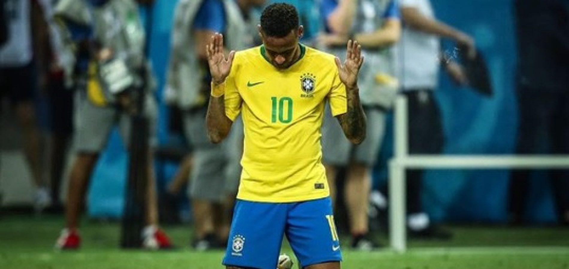 Presidente da CBF descarta cortar Neymar da Seleção