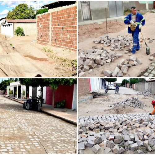 VILA NOVA | Com recursos do IPTU, Prefeitura investe em pavimentação de ruas