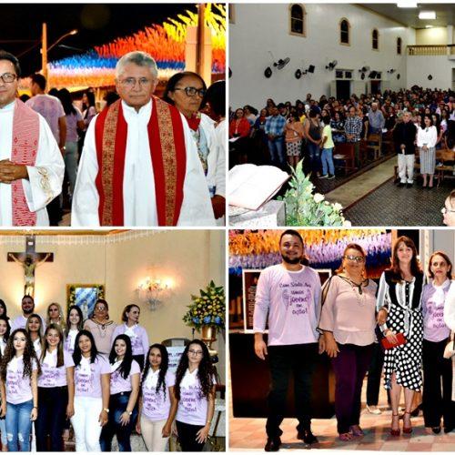 Missa abre o 111° festejo de Santa Ana, padroeira de Monsenhor Hipólito