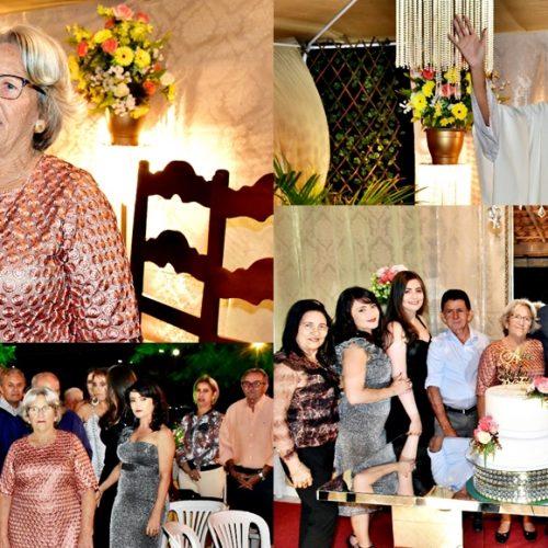 GENTE EM EVIDÊNCIA   Dona Alice comemora 70 anos ao lado de familiares e amigos em Vila Nova do PI