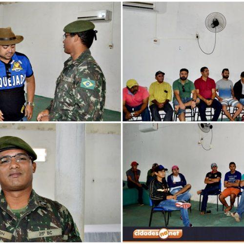 Durante reunião em Alegrete, Exército anuncia suspensão da 'Operação Pipa' em onze municípios do polo. Veja!