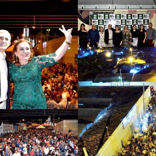 Aniversário de 61 anos de Monsenhor Hipólito é celebrado com grande festa; prefeito aponta avanços