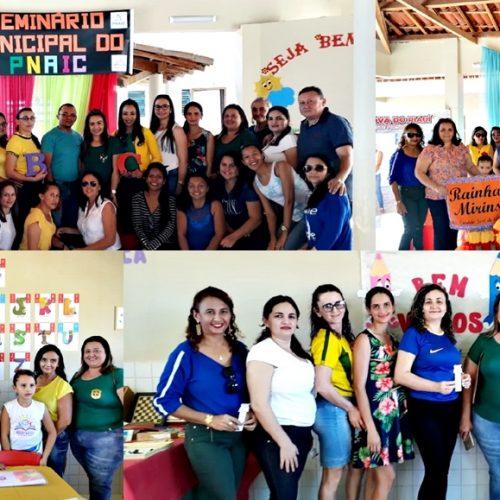 Educação de Vila Nova do Piauí realiza seminário do PNAIC e socializa atividades do ciclo 2017/2018