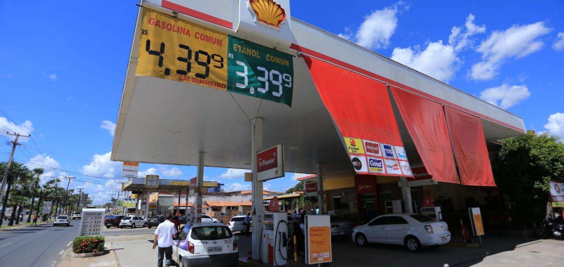 Petrobras anuncia aumento de 0,78% no preço da gasolina