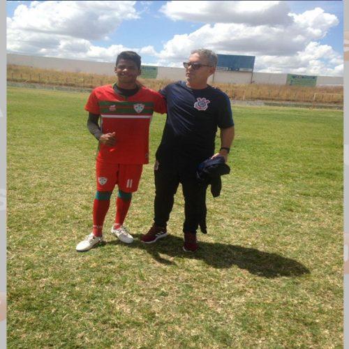 Atleta de Padre Marcos é selecionado pelo Corinthians em peneira realizado no Crato