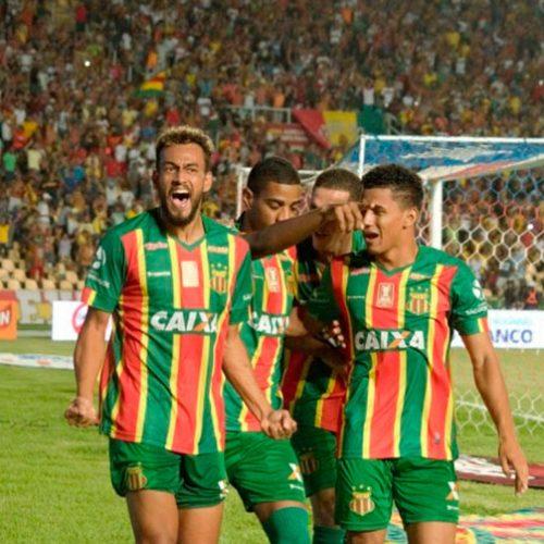 Com gol mais rápido do Nordestão, Sampaio Corrêa sai na frente do Bahia na final