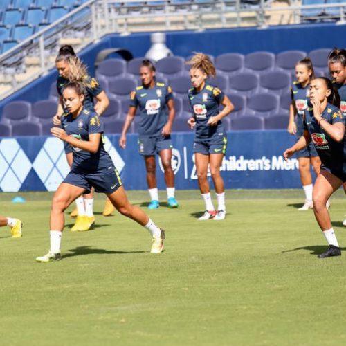 Futebol feminino do Brasil estreia no Torneio das Nações nos EUA nesta quinta-feira