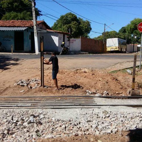 Obra da Transnordestina atrapalha deslocamento de alunos no Piauí