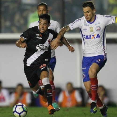 Vasco vence Bahia, mas é eliminado da Copa do Brasil