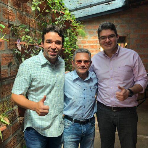 Prefeito do PR de Fábio Xavier e Fábio Abreu vai apoiar Luciano Nunes
