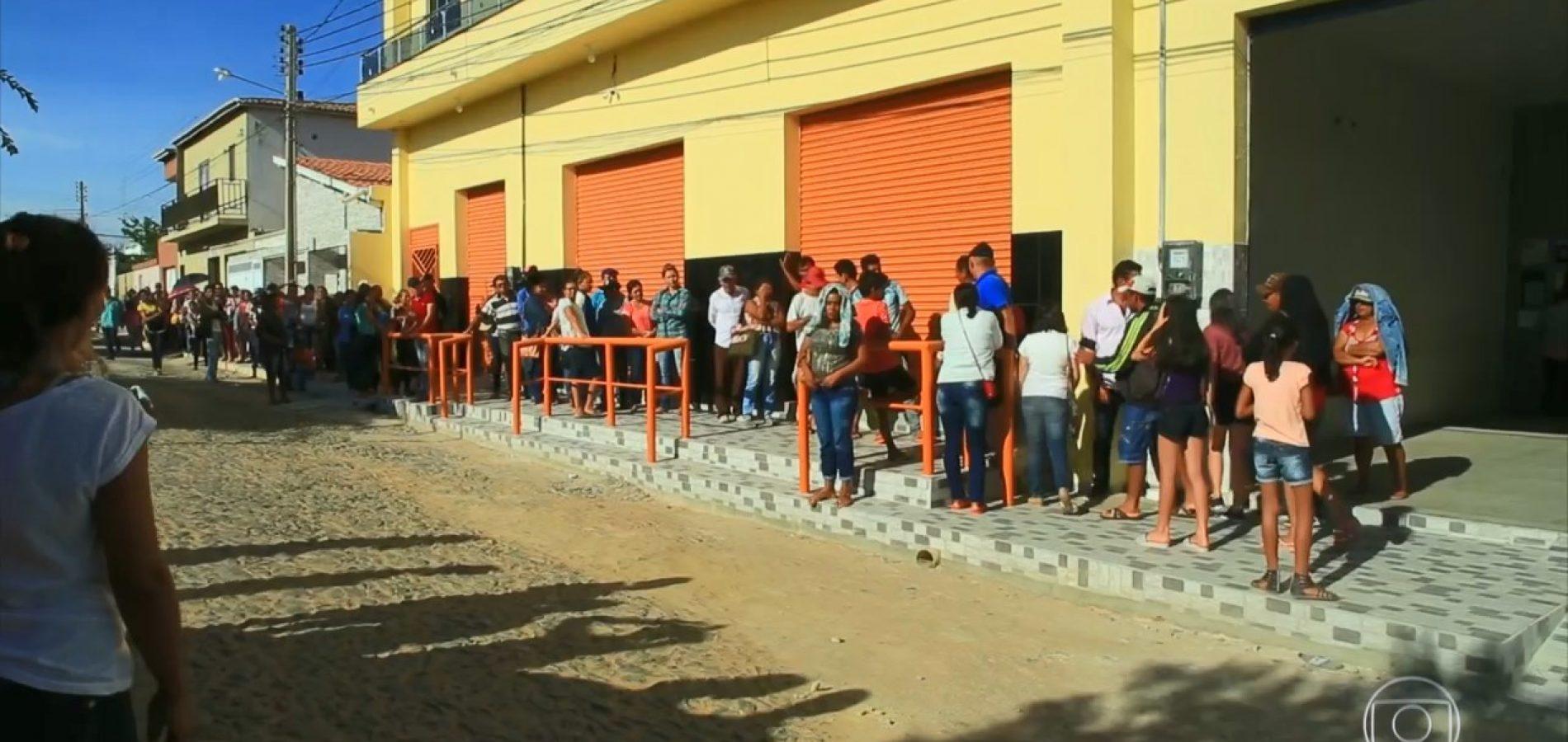 44% das cidades do Piauí não têm agências bancárias e assaltos pioram situação