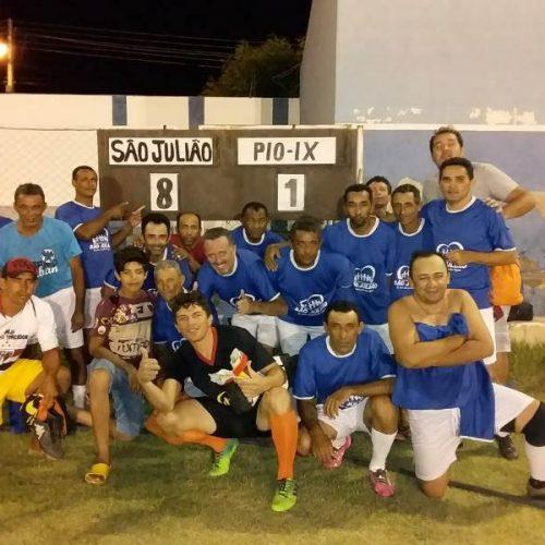 Seleção de São Julião goleia Pio IX e segue invicta na Copa Chico Pinheiro em Fronteiras