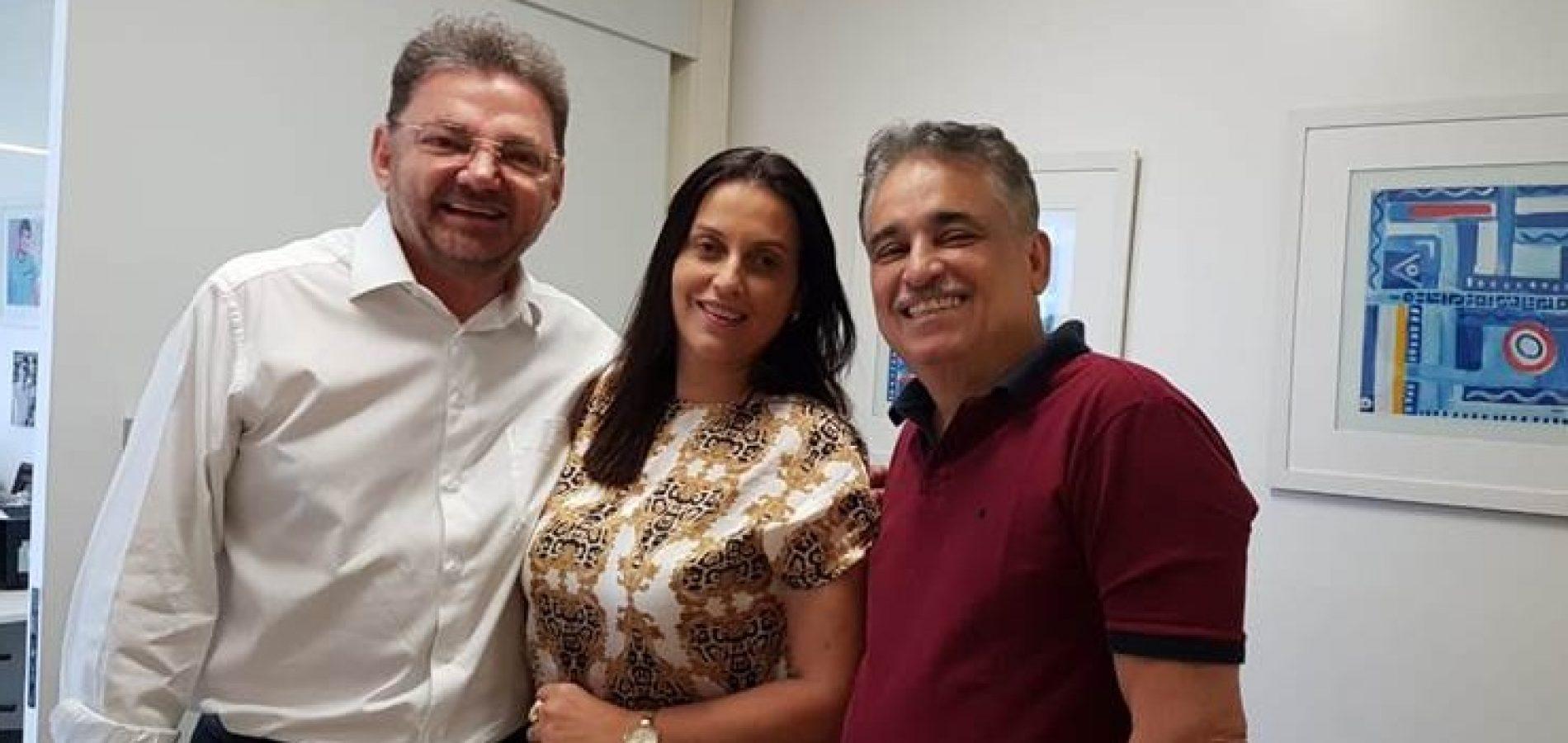 Cassandra Moraes Souza é confirmada como vice de Luciano Nunes