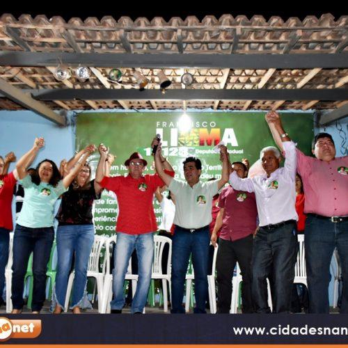 Em Marcolândia, Limma lança candidatura e reúne lideranças de vários municípios da região